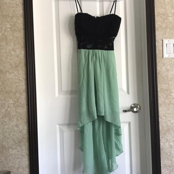 Never Been Worn High Low Dress